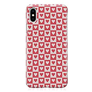 Loud Universe Wrap Around Edges Case For iPhone XS Max Valentines Day Couples Love Heart Pattern Durable Modern Printed Edge New iPhone Cover