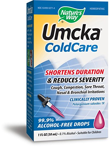 Nature's Way Umcka ColdCare Alcohol-Free Drops 1fl oz by Nature's Way