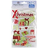 Paper House 3D Stickers, All I Want for Christmas