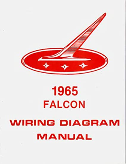 1965 ford wiring schematic amazon com bishko automotive literature 1965 ford falcon  1965 ford falcon