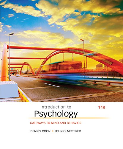 Introduction to Psychology: Gateways to Mind and Behavior Pdf