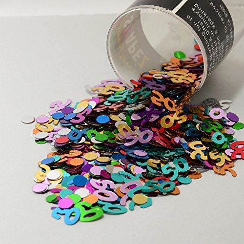 Confetti Mix - 50s & Circles Multicolors - Retail Pack #9004 - Free Ship ()