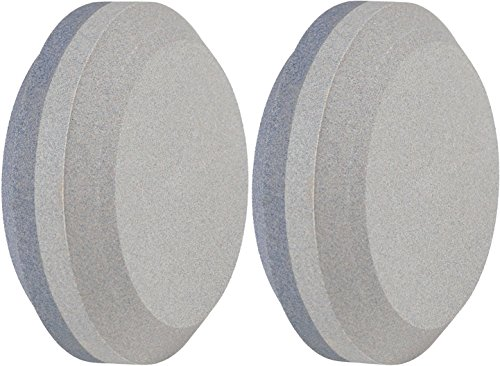 Lansky Sharpeners The Puck Dual Grit Multi Purpose Knife Sharpener 2 Pack