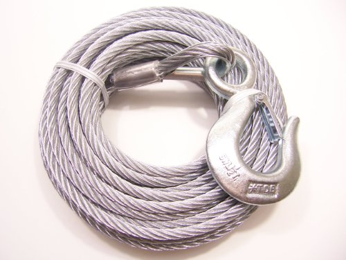 "Tie Down 50412 1/4"" X 50' Winch Cable"