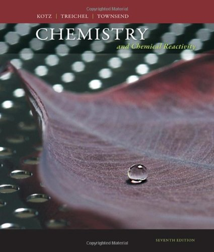 Chemistry and Chemical Reactivity (Available Titles OWL)