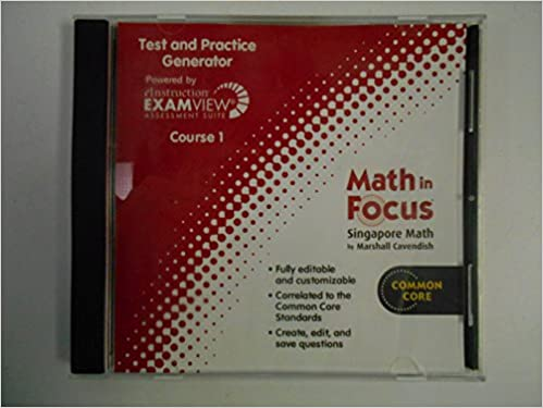 Amazon math in focus singapore math examview assessment math in focus singapore math examview assessment generator course 1 1st edition fandeluxe Choice Image