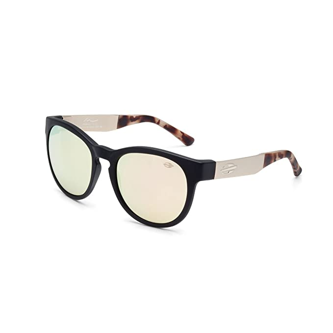 MORMAII Gafas de sol Maya Gabeira, negro con astas en metal y lentes a  espejo rosadorado  Amazon.es  Ropa y accesorios ff1e78ea30