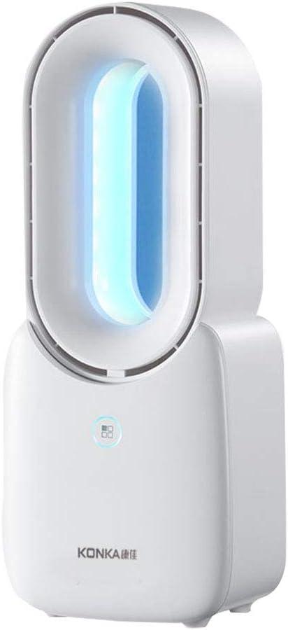 pequeño ventilador sin hojas inteligente de escritorio con luces ...