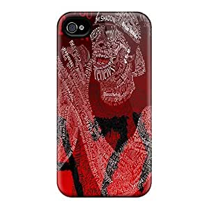 Perfect Cell-phone Hard Cover For Apple Iphone 4/4s With Custom Trendy Avenged Sevenfold Skin AlissaDubois