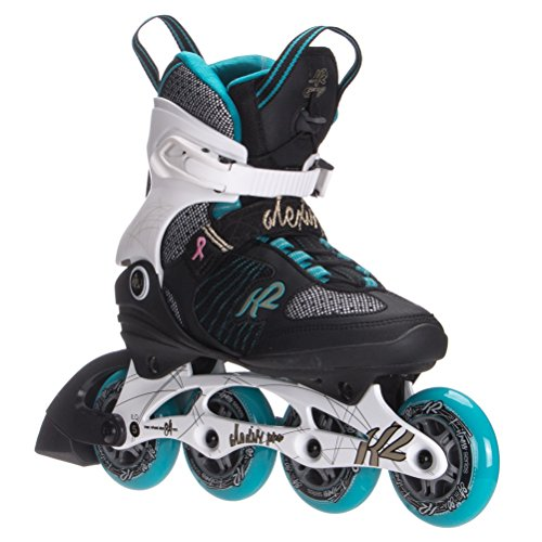 K2 Skate Women's Alexis Pro 84 Inline Skates, White/Blue/Gold, for sale  Delivered anywhere in USA