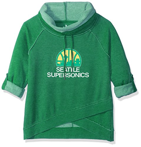 Touch by Alyssa Milano NBA Seattle Supersonics Wildcard Top, Large, Green