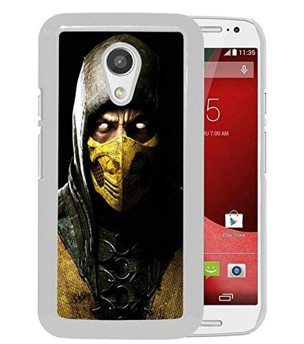 Para Moto G 2 ND, Mortal Kombat X Scorpio Ninja máscara ...