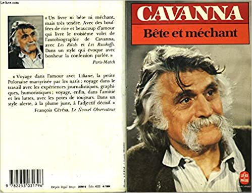Bete Et Mechant Cavanna 9782253031796 Amazon Com Books
