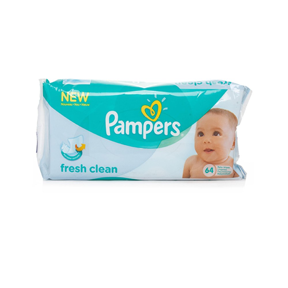 Pampers Fresh Clean Baby Wipes (64 Wipes In 1 Pack) 622840