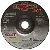 United Abrasives-SAIT 23336 Type 27 6-Inch x .045-Inch by 7/8-Inch Z-Tech High Performance Cutting Wheel, 50-Pack