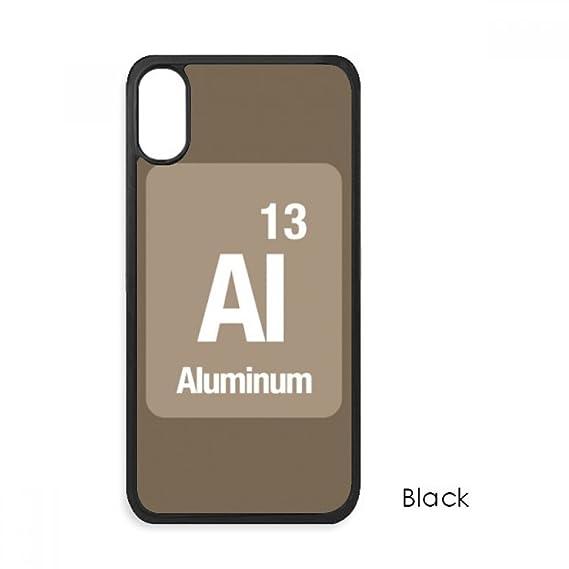 Amazon Al Aluminum Chemical Element Chem For Iphone X Cases