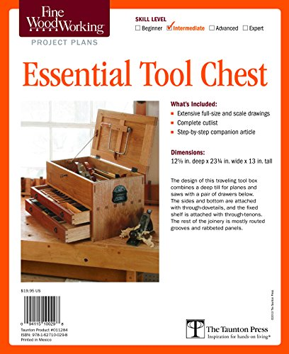 - Fine Woodworking's Essential Tool Chest Plan (Fine Woodworking Project Plans)