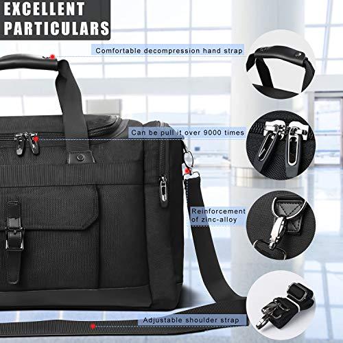d10e3f26d32d Domila Travel Duffel Bag 21   Large Unisex Weekender Bag TSA Friendly Carry -on