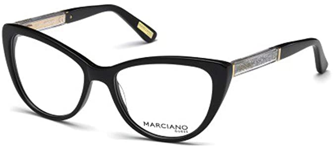 9026821e95d4 Image Unavailable. Image not available for. Color  Eyeglasses Guess By  Marciano GM 312 GM 0312 001 shiny black