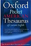 img - for The Oxford Pocket American Thesaurus of Current English book / textbook / text book