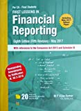 First Lessons in Financial Reporting [CA Final Nov 2017]