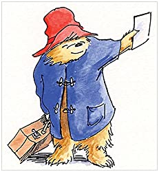Marmont Hill Paddington Bear Train Ticket Canvas Wall Art, 32 By 32-inch