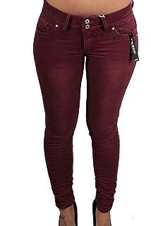 Hailys Damen Jeans Skinny Fit Stretch Denim Distressed