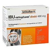 IBU-ratiopharm® direkt 400 mg Pulver zum Einnehmen 20 Stück