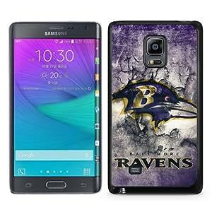 Baltimore Ravens 15 Black Personalized Photo Custom Samsung Galaxy Note Edge Cover Case