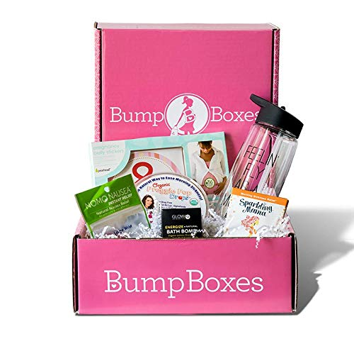 Bump Boxes 1st Trimester Pregnancy Gift Box (Essentials Pregnancy Kit)