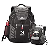 Newberry High Sierra Big Wig Black Compu Backpack 'Official Logo'