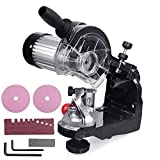 VEVOR Saw Chain Grinder with Grinding Wheels Chain Grinder 1/8 and 3/16 Inch Electric Chainsaw Sharpener Bench or Wall Mounted