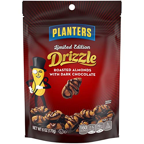 Milk Chocolate Drizzle - Planters Milk Chocolate Drizzle Almond Multipack 6oz, pack of 1