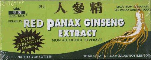 Royal King - Red Panax Ginseng Extract (30 vials x 10mL) - 9 boxes