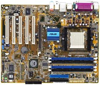 amazon com atx k8t800 939 agp ddr electronics rh amazon com Asus A8V Deluxe Motherboard asus a8v-mx user manual