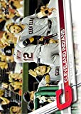 2017 Topps Baseball Series 1 #122 Cleveland Indians Indians