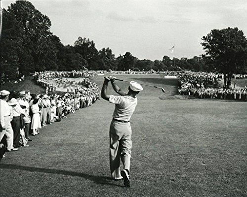 Golf Collectibles Ben Hogan Hitting a 1 Iron Off The tee During The 1950 US Open - 20