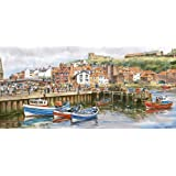 Gibsons Whitby Harbour Jigsaw Puzzle, 636 piece