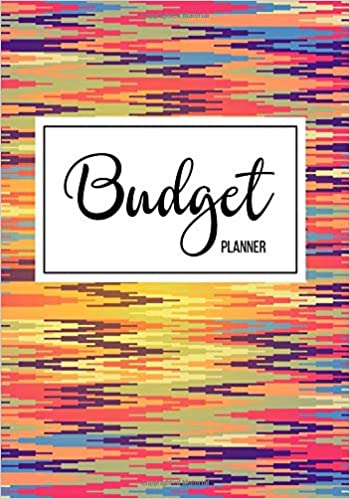 amazon budget planner financial planning journal monthly expense