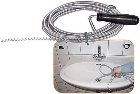 Ressort de Débouchage Canalisation Spirale Nettoyant Tuyau 3-20 M D.9 mm pour