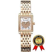 BRIGADA Swiss Watches Fashion Luxury Ladies Watches for Girls Women