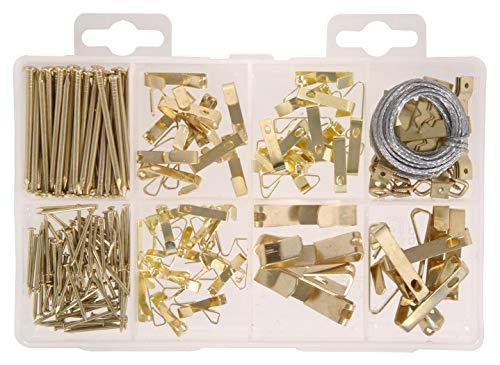 (Hillman Fastener 130251 Lg Picture Hanger Kit, 6 Piece)