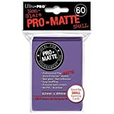 Ultra Pro Pro-Matte Sleeves - Purple, Small - for Yu-Gi-Oh, Cardfight/CFVG (60 Deck Protectors)