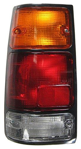 (Taillight Lamp w/Black Bezel Driver Left LH for Passport Amigo Rodeo)
