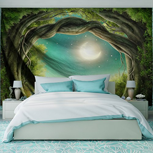 QiYI Home Wall Hanging Nature Art Polyester Fabric Tapestry For Dorm...