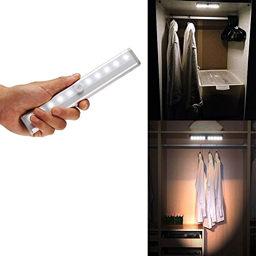4 Led Cabinet Light W/Motion Activated Sensor in US - 3
