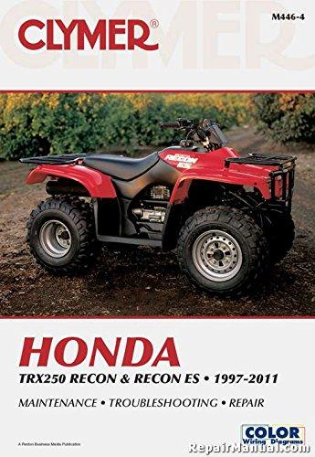 NOS-M446-4 1997-2011 Honda TRX250 Recon ES ATV Repair Manual by Clymer