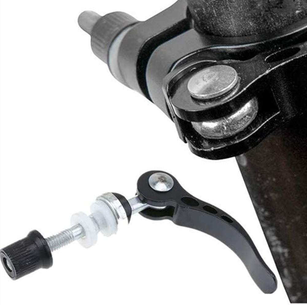 N\A Sattelst/ützenklemme 2 St/ück Aluminiumlegierung Schnellspanner-Sattelst/ützen-Klemme Spie/ßschraubenwerkzeug f/ür Radfahren