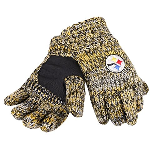Gnome Pittsburgh Steelers (NFL Pittsburgh Steelers Peak Glove, Black)