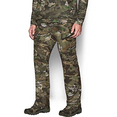 4 Season Pants - Under Armour Men's Stealth Reaper Early Season Pants, Ridge Reaper Camo Fo (943)/Black, 36/32